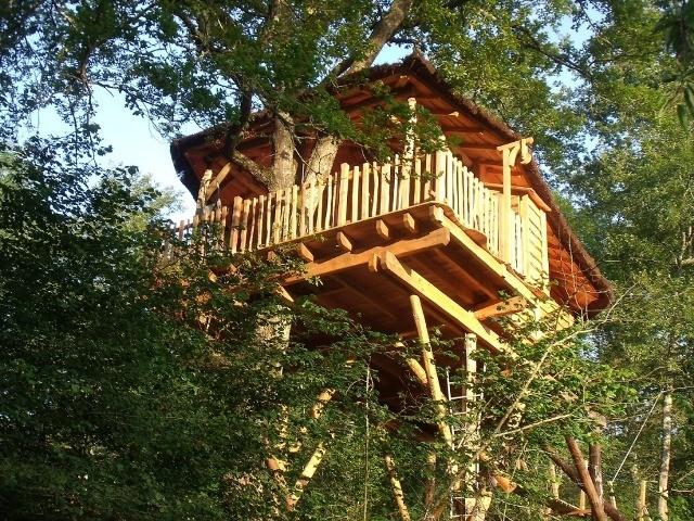 Cabane de luxe pour naturistes