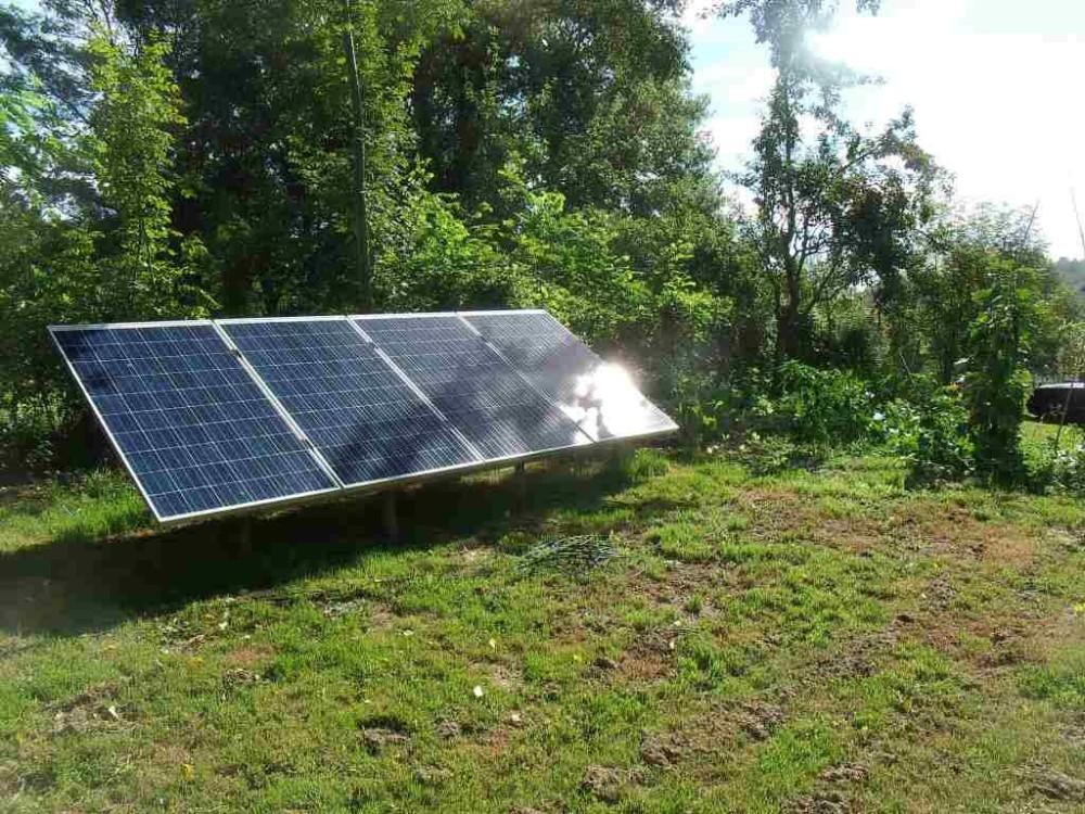 L'électricité gräce au soleil