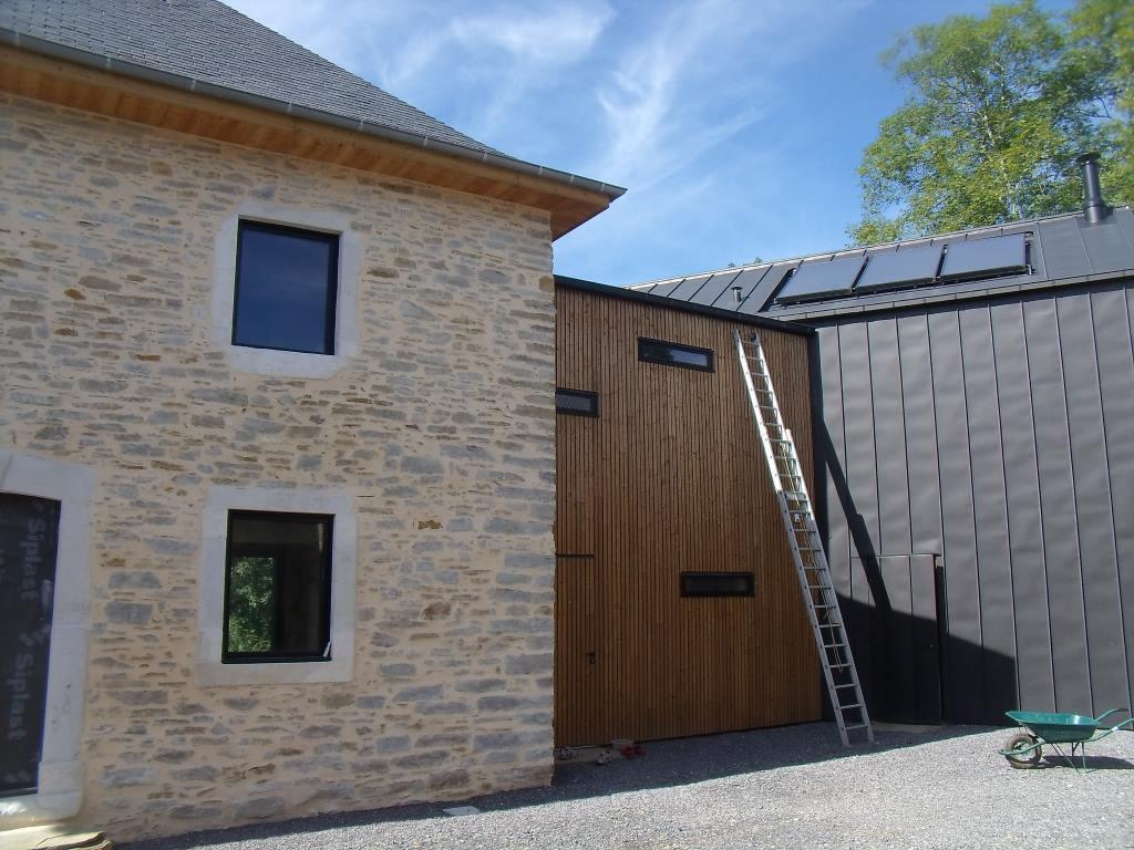 Nos 7.5 m² de panneaux solaires thermiques