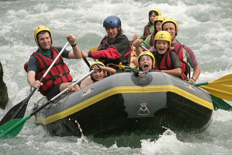 Rafting au cabanes du Clos Claberot