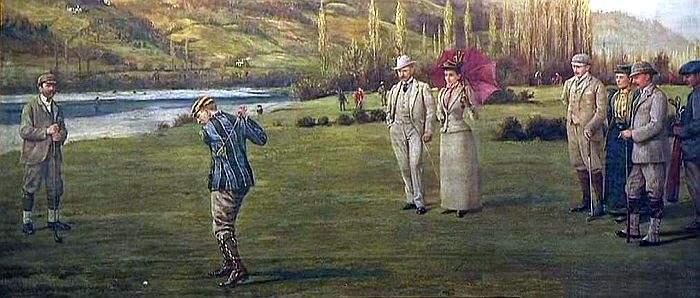 anglais-golf-pau-19e